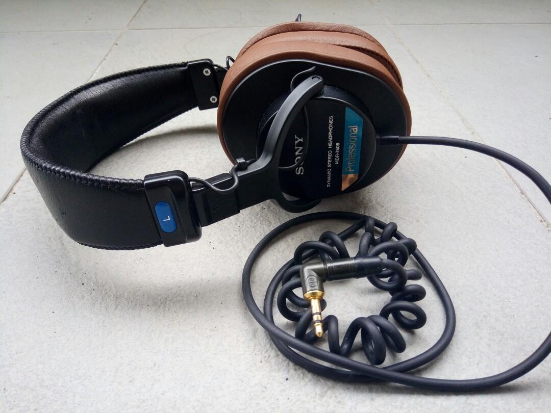 Sony mdr-7506 monitor earphone headphone 耳機