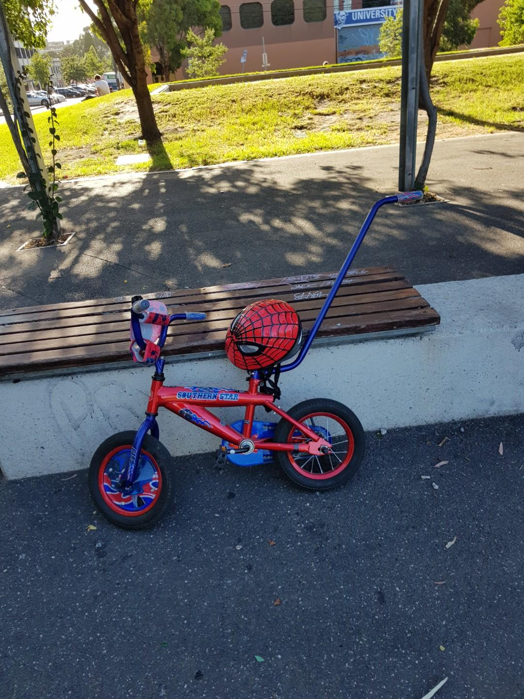 PRICE DROP -Southern star toddler bike with supports