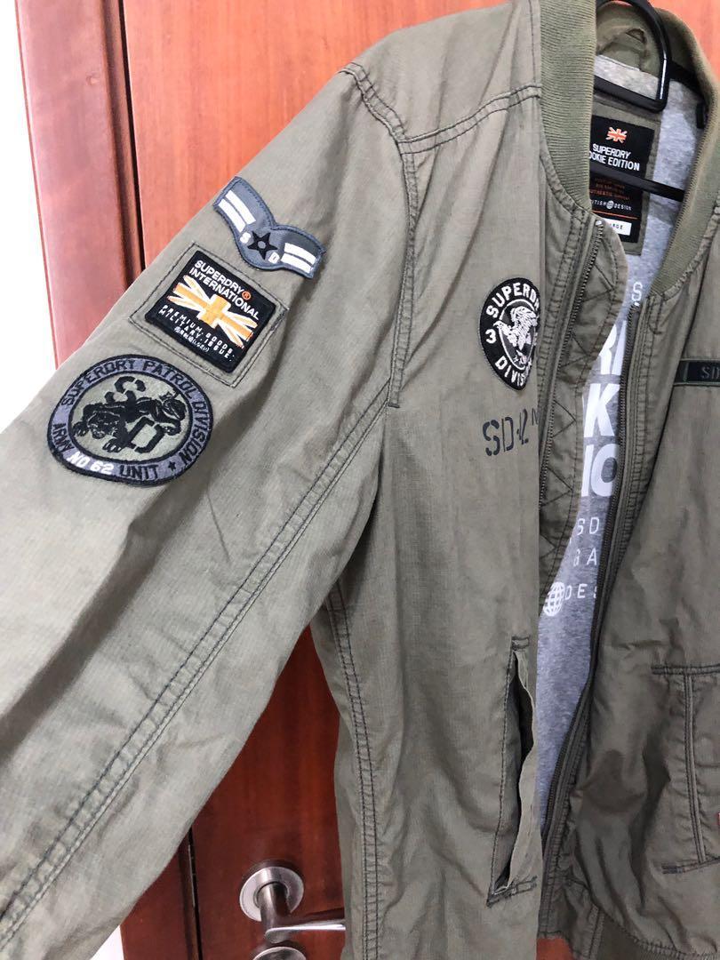 Superdry Military Bomber Jacket