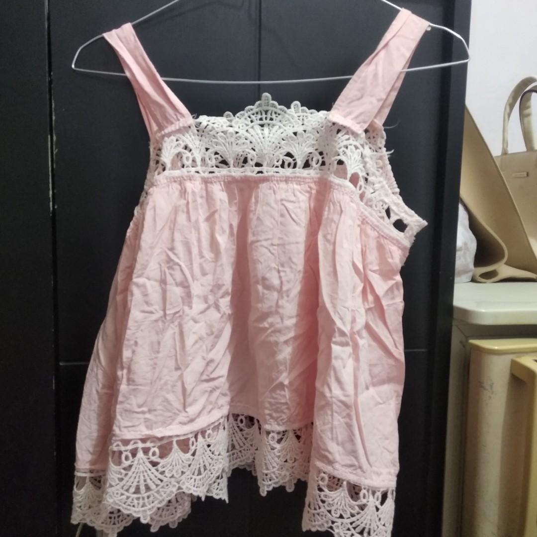 tanktop inner baju pantai bikini dress