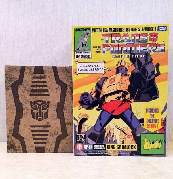 the transformers masterpiece king  grimlock_mp8X
