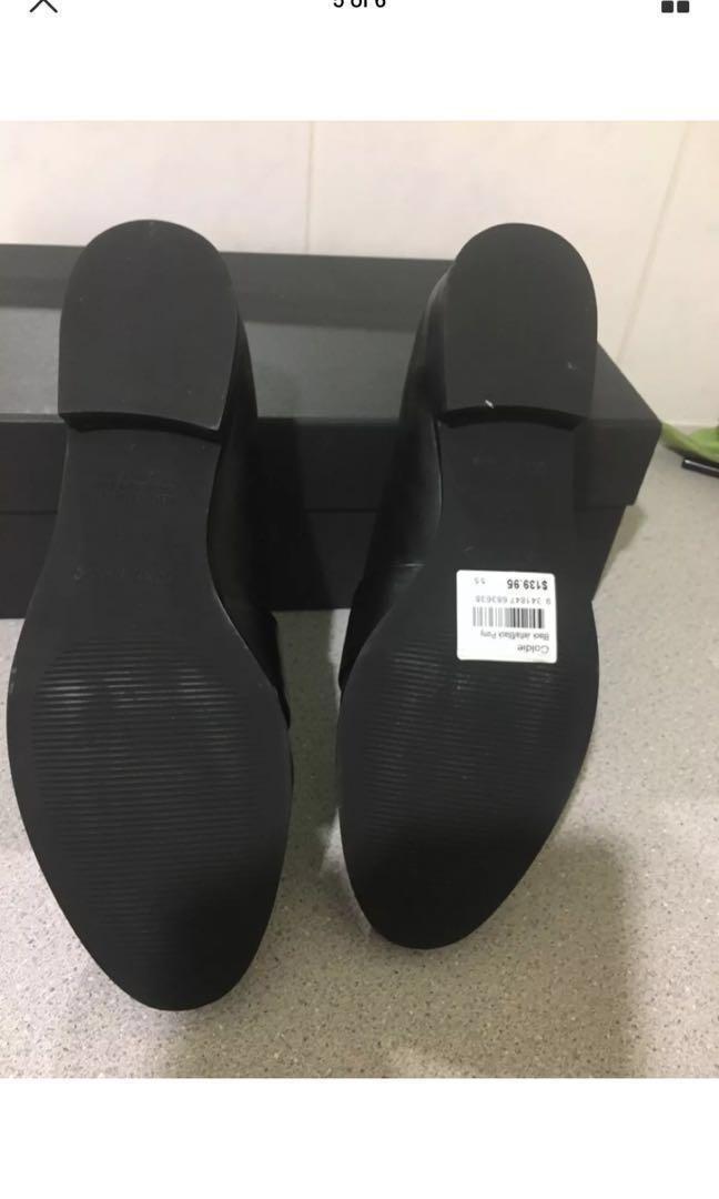 Tony bianco black loafers flats