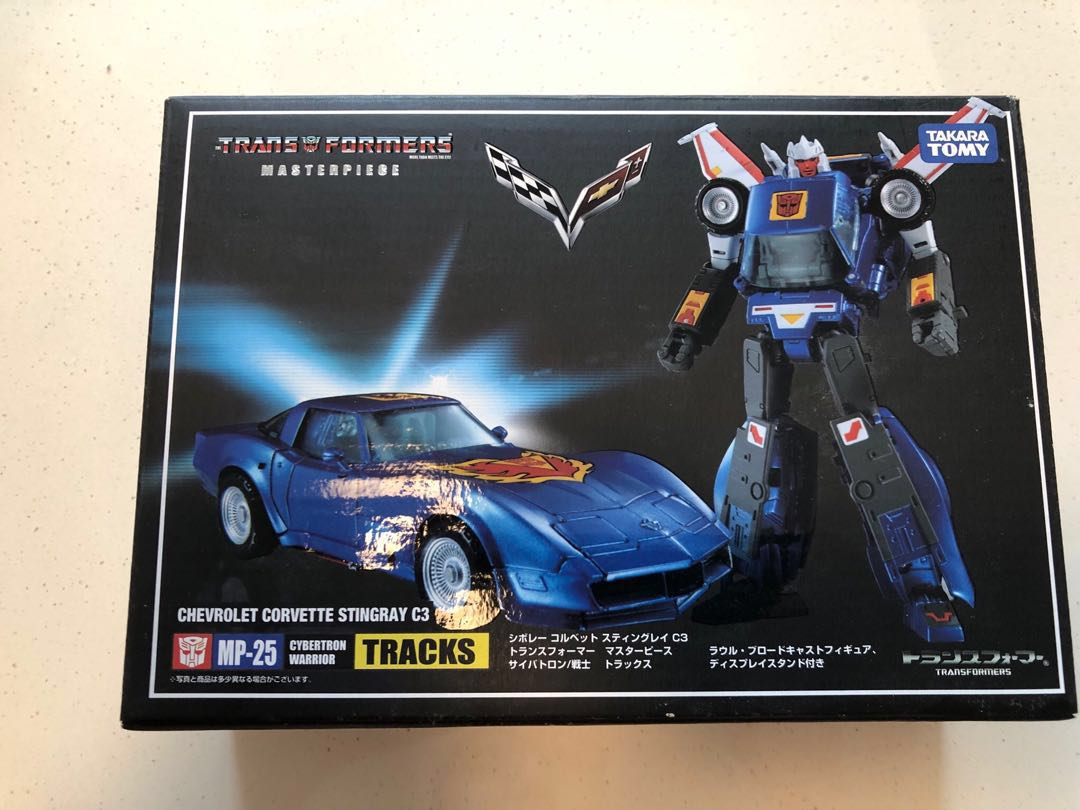 NEW TAKARA TRANSFORMERS MASTERPIECE MP-25 TRACKS CHEVROLET IN STOCK MISB