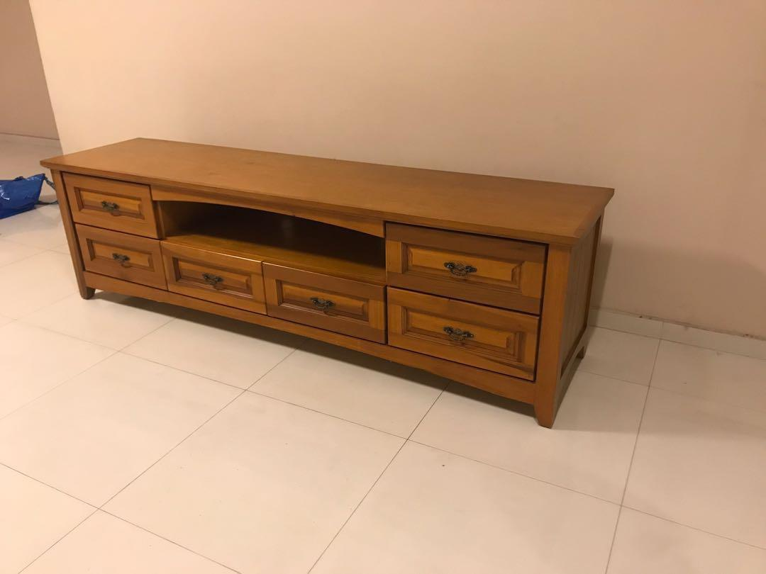 TV Console Wooden finish