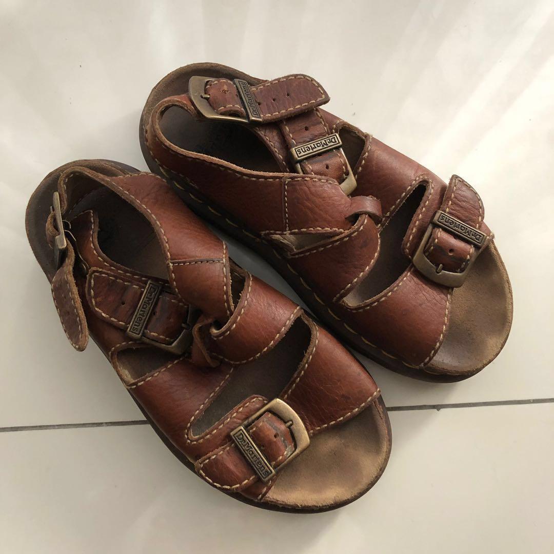 Vintage Dr Martens 8209 Chunky Sandals s38 uk5