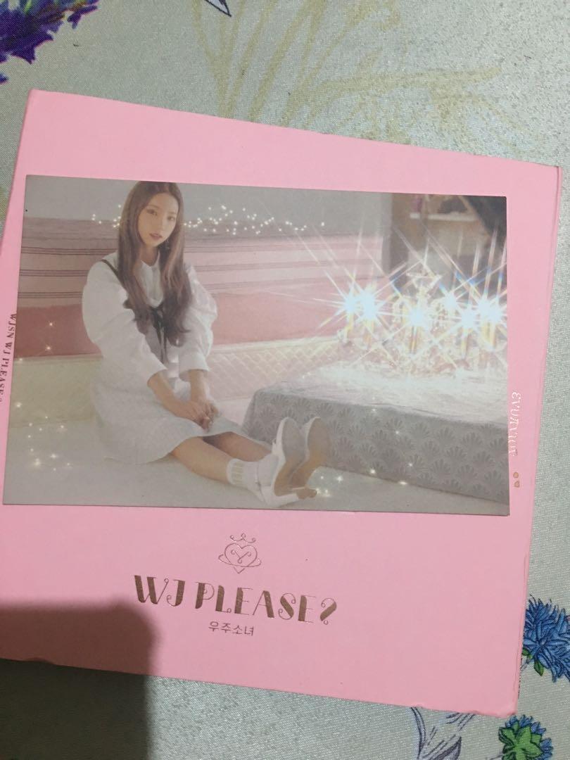 WTS WJSN 5th mini album WJ Please pink version