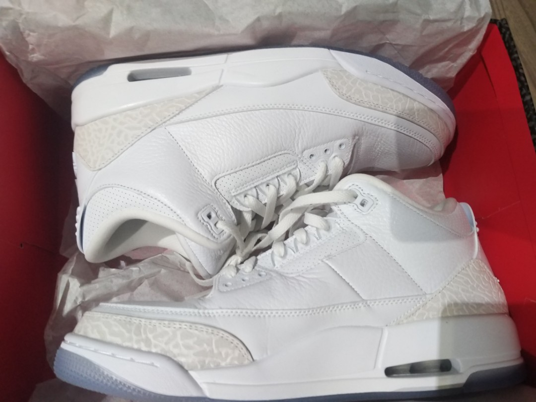 sports shoes d12a5 89e88 Wtt/wts air jordan 3 retro pure white