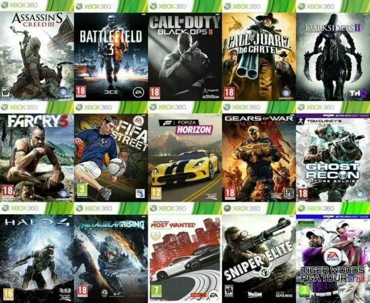 Xbox 360 Games Download Video Gaming Video Games On Carousell