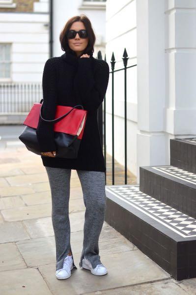 Zara Ribbed Knit Set AS SEEN OM SELENA GOMEZ