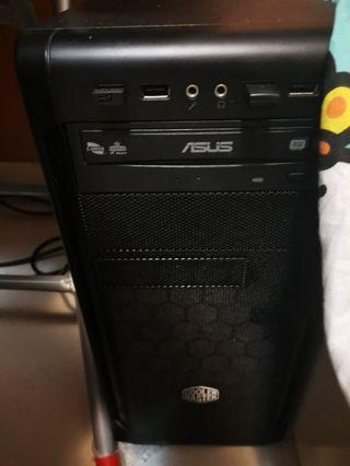 桌上電腦i7-4790/128SSD/1TB HDD/16G ram