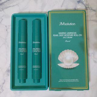 韓國 JM solution 保濕滾珠眼霜一隻(膠原海洋綠色珍珠-淡化黑眼圈)