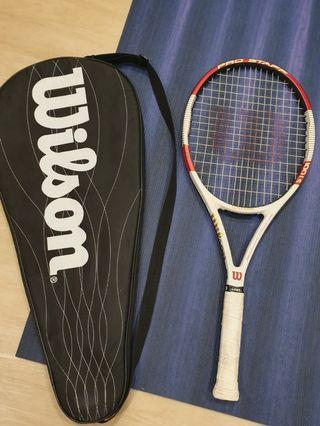 Wilson ProStaff 100LS with spin technology