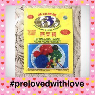 Prelovedwithlove gratis agar agar swallow #BAPAU
