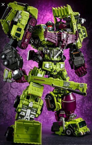 Transformers 變形金剛 建造派 金寶放大版