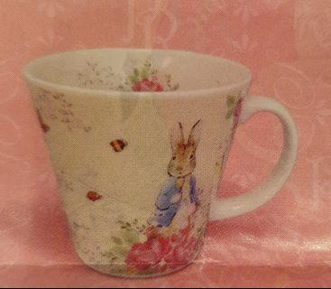 Limited Edition Japan Peter Rabbit and Sisters Cup, Bowl, Plate