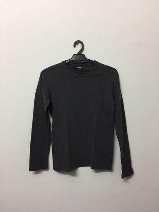 Uniqlo dark grey top