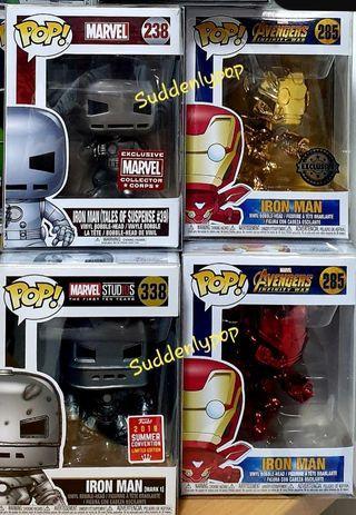 🚚 Funko Pop Marvel ironman