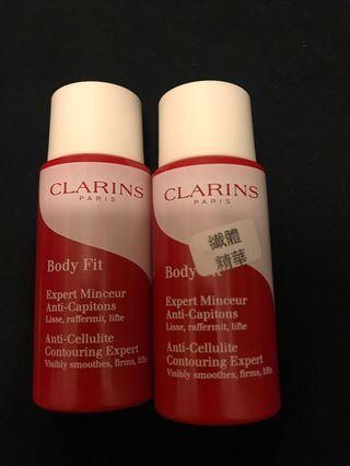 Clarins Body Fit纖體精華x2