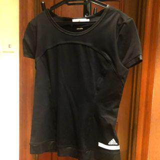 Adidas by Stella McCartney Black Sport Tee