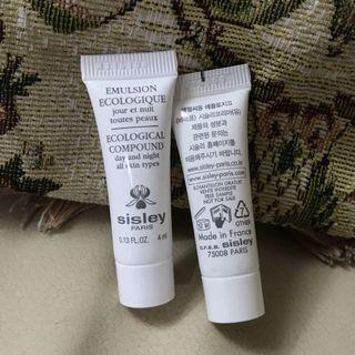 Sisley Paris Ecological Compound Day and Night 全能乳液 試用 旅行 sample cream