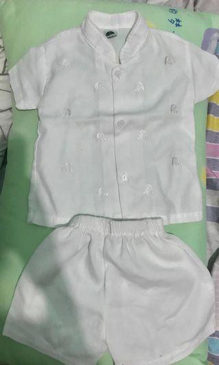 Baptismal / Christening White Outfit Set for Boys