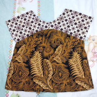 Batik Tops #BAPAU #MAUVIVO
