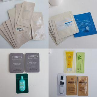 🚚 FREE Skincare Samples / Korean Brands