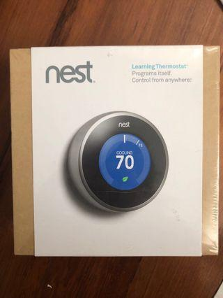 🚚 Nest Learning thermostat, measure and cut down energy consumption
