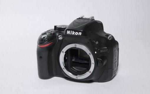 🚚 Nikon d5200 + sigma 18-200mm +Nikkor-s auto 50mm F1.4