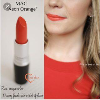 🚚 MAC Lipstick - Neon Orange