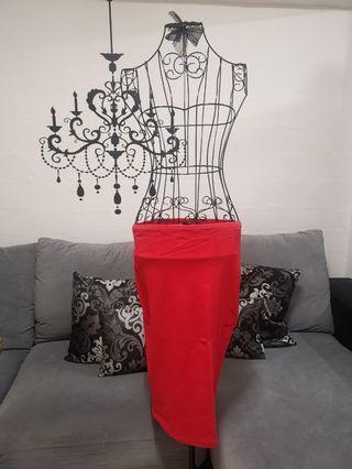 NEW! Red Skirt