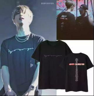 Preorder: Got7 2018 world tour Similar shirt