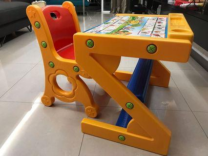 Toddler Table & Chair Set