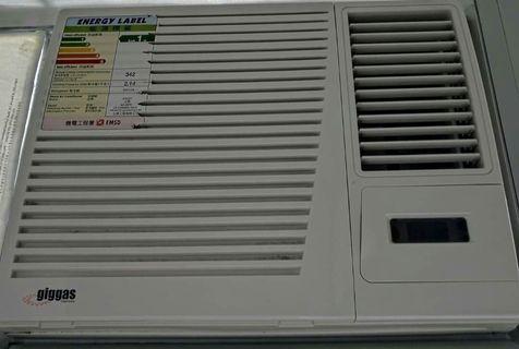 上將牌 giggas 3/4匹 冷氣機