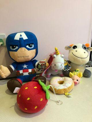 🚚 Soft Toys (Selling ALL @ one price)
