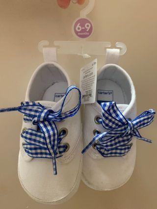 Prewalker Baby Shoes Carter's ORI white sneakers