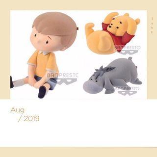「預訂」Banpresto Disney Fluffy PuffyFigure Winnie the pool/Eeyore/Robin