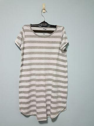 🚚 Striped short dress