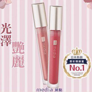 Media Liquid Glow Rouge 媚點閃耀持色唇釉 PK-01