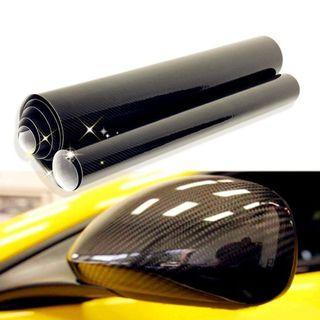 5D Vinyl Film Sheet Auto Car Sticker Carbon Fiber Membrane High Glossy Wrapping