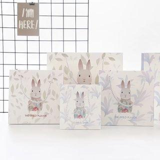 [現貨]可愛兔子 禮品袋 精美禮物盒 紙袋 手提袋 生日禮盒 送禮 伴手禮 禮物袋子