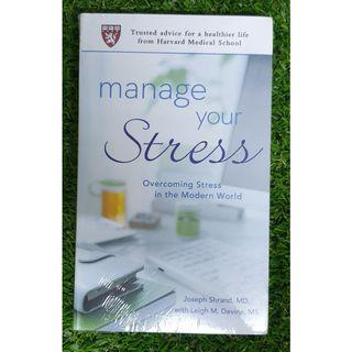 MANAGE YOUR STRESS by JOSEPH SHRAND