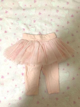 Baby GAP Tutu Legging Baby Pink