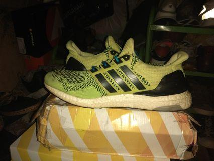 Adidas Ultraboost 1.0 solar yellow super rare/langka original