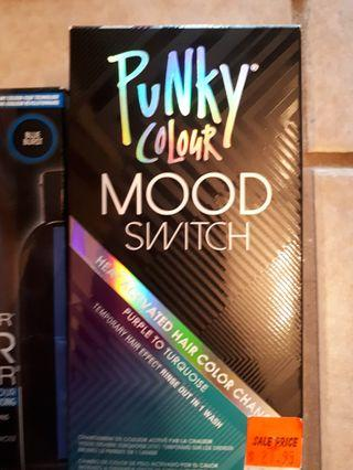 Punky color heat activated