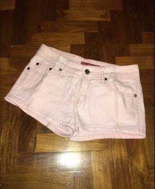 🚚 Pink Denim Shorts