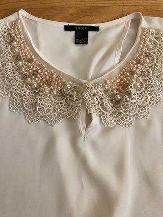 Forever21 Pearl Shirt