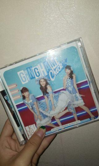 CD/DVD JKT48 GINGHAM CHECK