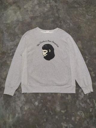 BAPE  Double Print Sweater Ori