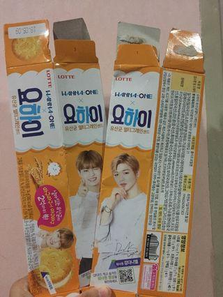 Wanna One Lotte Biscuit Box
